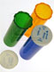 Push and Turn Pharmacy Vials
