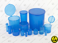 Static Dissipative Polypropylene Containers