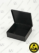 Laboxx 353010-CAS Black Conductive Antistatic ESD Plastic Boxes