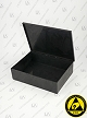 Laboxx 705017-CAS Black Conductive Antistatic ESD Plastic Boxes