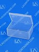 Flex-A-Top®  FT-14 Horizontal Small Hinged-Lid Plastic Box (Autoclavable) 500/Box