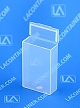 Flex-A-Top® FT9 Vertical Small Hinged-Lid Plastic Boxes (Autoclavable) 1,200/Box