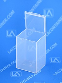Flex A Top 174 Ft19 Vertical Small Hinged Lid Plastic Box