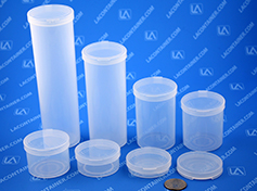 Round Polypropylene Containers