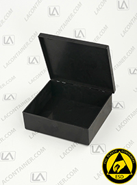 Esd Packaging Conductive Abs Plastic Boxes For Esd