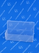 Flex-A-Top® FT40 Horizontal Small Hinged-Lid Plastic Box (Autoclavable) 250/Box