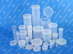 Lacons Small Round Plastic Containers