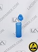 Polyvials EP2100-BAS Blue Static Dissipative (ESD) Small Lab Vials 1,000/Box
