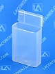 Flex-A-Top®  FT16-SL Vertical Small Hinged-Lid Plastic Box With Split Lid (Autoclavable) 500/Box