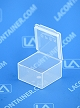 Flex-A-Top® FT3 Horizontal Small Hinged-Lid Plastic Box (Autoclavable)  1,000/Box