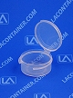 Lacons® 150750 Round Hinged-Lid Plastic Container 1,000/Box