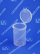 Lacons® 152500 Round Hinged-Lid Plastic Container 750/Box