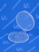Lacons® 250325 Round Hinged-Lid Plastic Container 1,400/Box