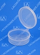 Lacons® 250950 Round Hinged-Lid Plastic Container 700/Box