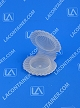 Shell-Cons SC120200 Plastic Cosmetic Sampling Container 500/Box