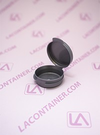 Lacons® 1/9oz Opaque Silver Cosmetic Sampling Container