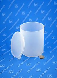 Statcons 4015-CLR Two Piece Thick Wall Plastic Container (Non ESD Properties)