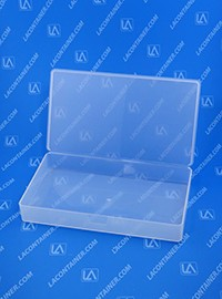 Flex-A-Top FT123 Small Hinged-Lid Plastic Box
