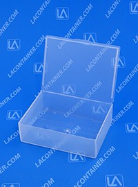 Flex-A-Top FT38 Small Hinged-Lid Plastic Box