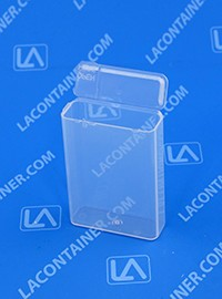 Flex-A-Top FT7-SL Small Hinged-Lid Plastic Box With Split Lid