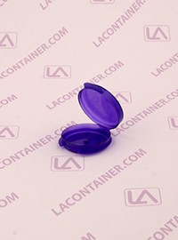 Lacons® Transparent Violet Cosmetic Sampling Container