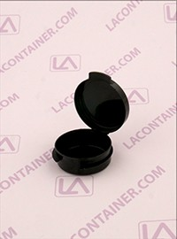 Lacons® 1/9oz Opaque Black Cosmetic Sampling Container