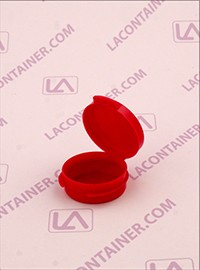 Lacons® 1/9oz Opaque Red Cosmetic Sampling Container