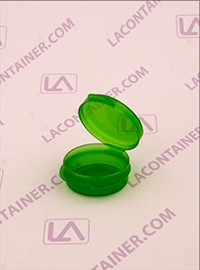 Lacons® 1/9oz Transparent Green Cosmetic Sampling Container