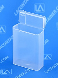 Flex-A-Top FT16-SL Small Hinged-Lid Plastic Box With Split Lid