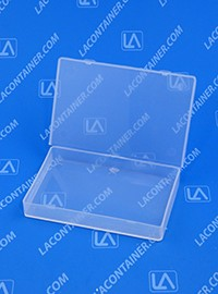 Flex-A-Top SB422705 Small Hinged-Lid Plastic Box
