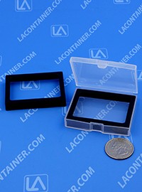 Flex-A-Top SB23195-Ink Pad Trim Ring For Small Square plastic Fingerprint/Ink Pad Container