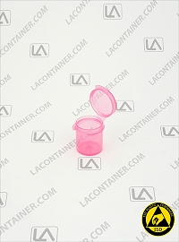 Lacons® 101000-ASP Pink Anti-Static Plastic Container