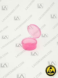 Lacons® 150750-ASP Anti Static Pink (ESD) Plastic Container