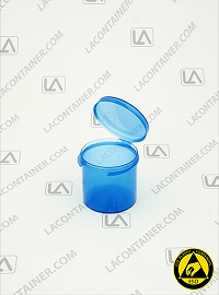 Lacons® 121500-BAS Blue Static Dissipative (ESD) Lab Container