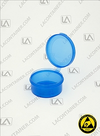Lacons® 201000-BAS Blue Static Dissipative (ESD) Lab Container
