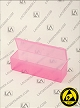 Flex-A-Top® FT40-ASP Pink Anti-Static Plastic Box 250/Box