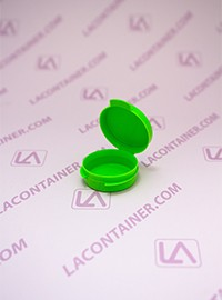 Lacons® 1/9oz Opaque Lime Green Cosmetic Sampling Container