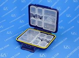 Meiho FB-470 Blue Water Proof Flip Folding Travel Case 180/Box