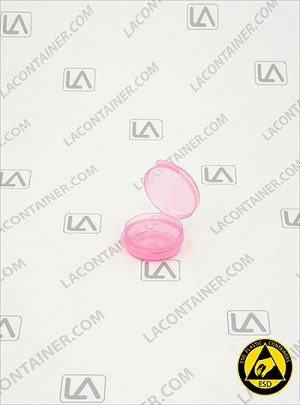 Lacons® 120450-ASP Pink Anti-Static Plastic Container
