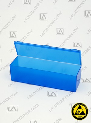 Flex-A-Top® FT40-BAS Horizontal Small Hinged-Lid Plastic Box