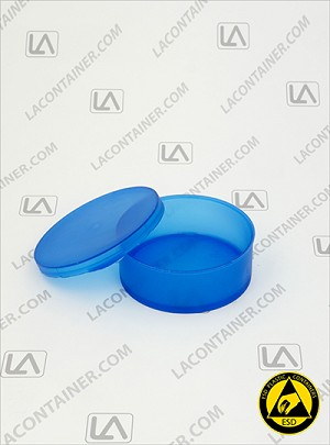 Statcons 4011-BAS  Two Piece ESD Static Dissipative Plastic Container