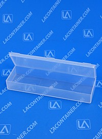 Flex-A-Top®  FT20 Horizontal Small Hinged-Lid Plastic Box (Autoclavable)  250/Box